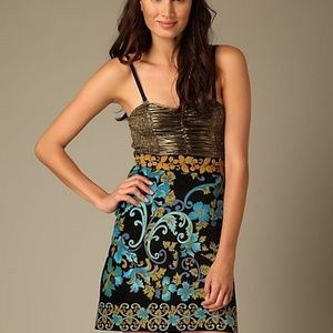 Free People Lost in Paradise Strapless Mini Dress